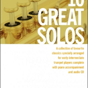 10 Great Solos for Trumpet - incl. CD (Arr. Colin Cowles)