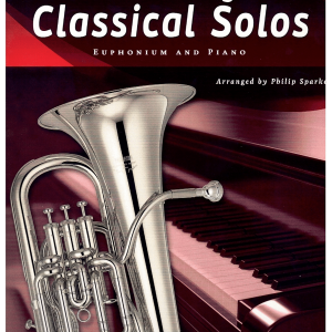 15 Easy Classical Solos for Euphonium & Piano