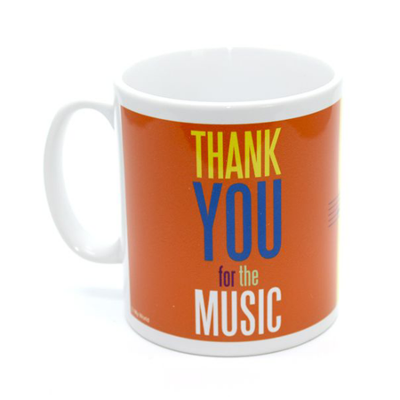 Thank You For The Music Mug Gift for Teachers