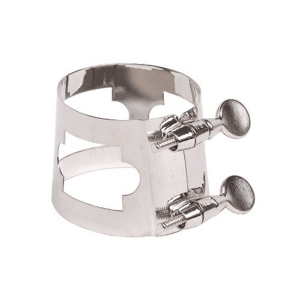 Baritone Sax Generic Ligature Nickel Plated