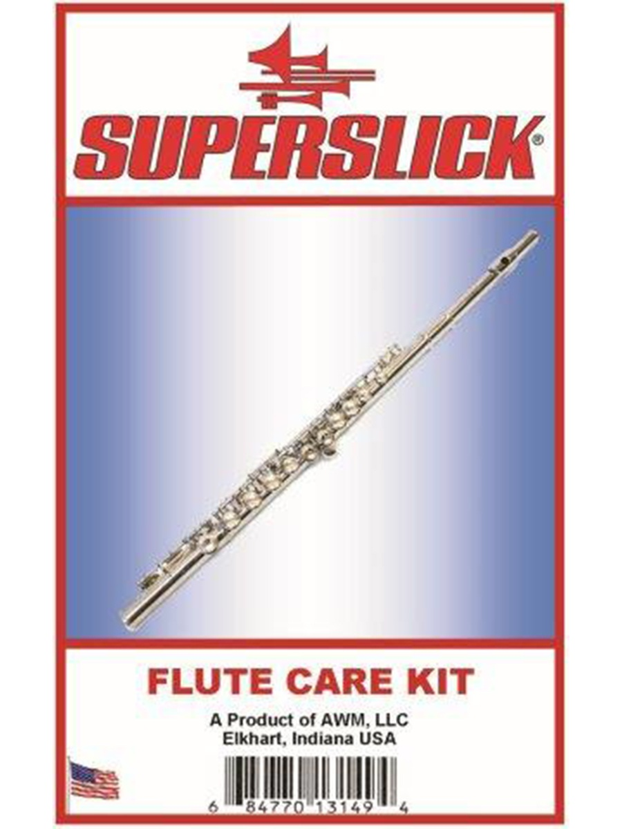 Superslick Flute Care Kit with Oiler
