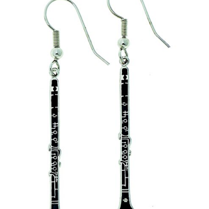 Clarinet Earrings