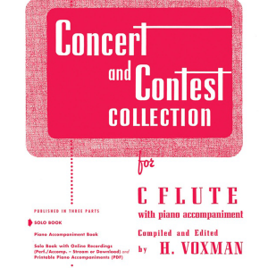 Concert and Contest Collection for Flute - Voxman