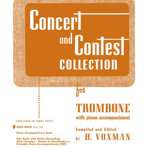 Concert and Contest Collection - Trombone