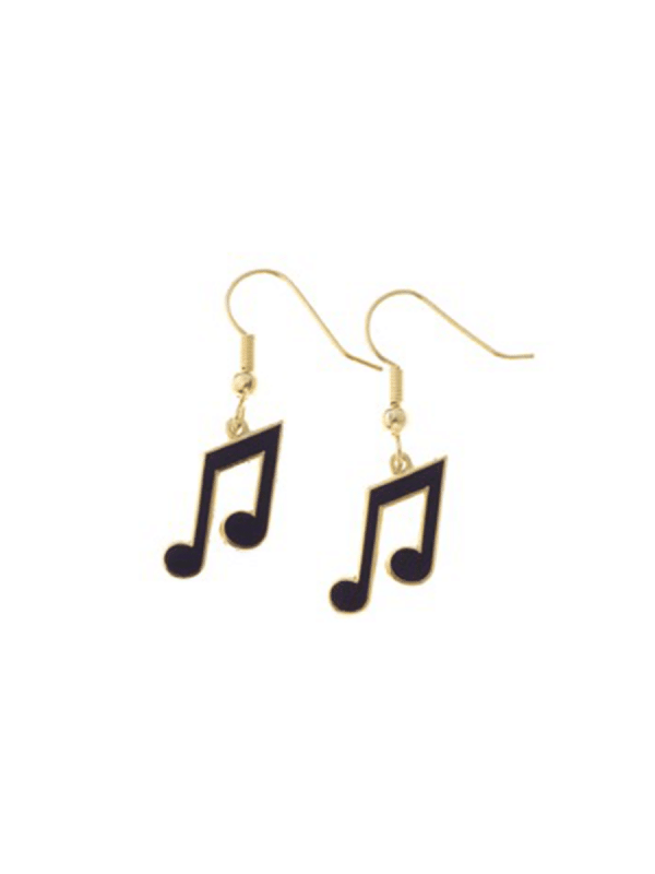 Earrings - Pair of Quavers (8th Notes)