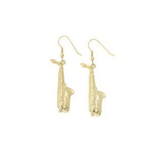 Saxophone Earrings