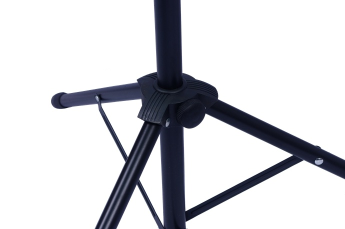 Black Folding Lightweight Metal Music Stand