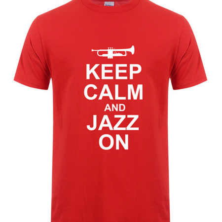 """""""Jazz On"""" Unisex T-Shirt Different Colours"""