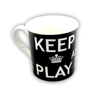 Keep Calm And Play Music Coffee Mug