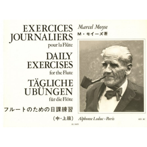 Daily Exercises for the Flute (Moyse)