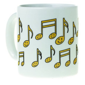 "Mug ""Happy Notes"""