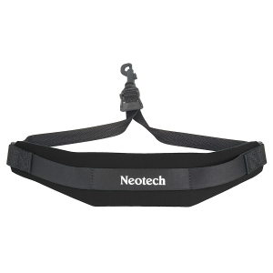 Neotech Soft Sax Strap Junior Swivel Hook Black