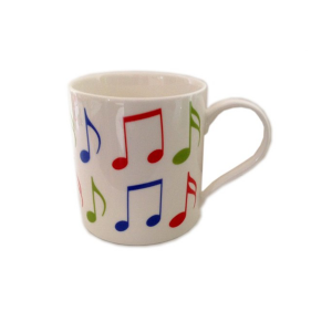 Allegro Music Notes Coffee Mug