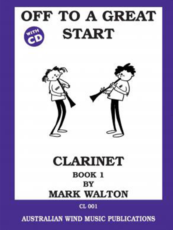 Off to a Great Start - Clarinet Book 1