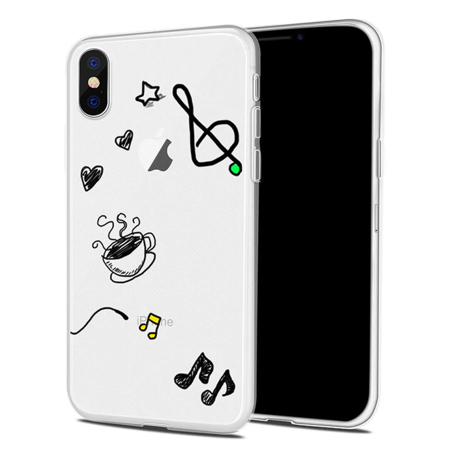 """""""Musical Coffee"""" iPhone Cover - Different Models"""