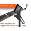 Protec Value Foldable Steel Music Stand - Standard Desk (Black or Pink)