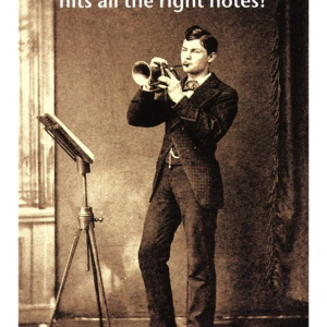 """Birthday Card """"All the Right Notes"""""""