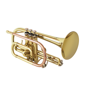 Syrinx SCT201 Student Cornet with Copper Leadpipe