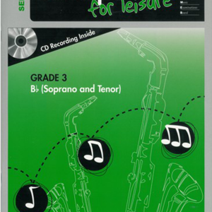 AMEB Saxophone for Leisure Bb Gr 3