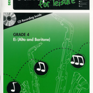 AMEB Saxophone for Leisure Eb Gr 4