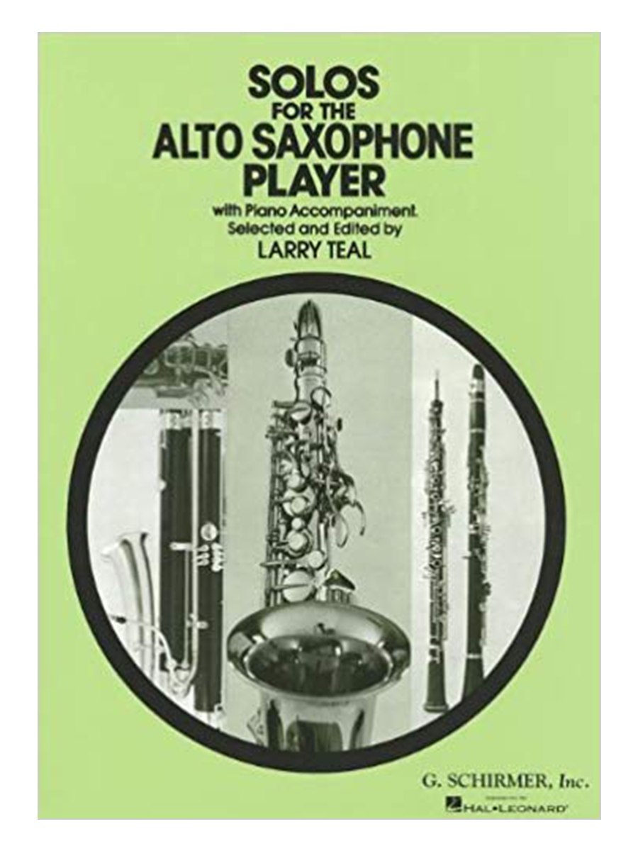 Solos for the Alto Saxophone Player - Teal