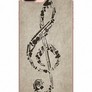 """Treble Clef"" iPhone Cover - Different Models"