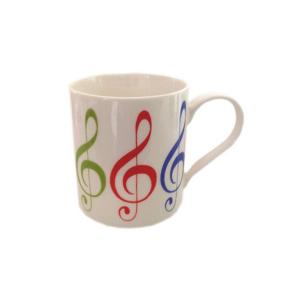 Allegro Treble Clef Coffee Mug