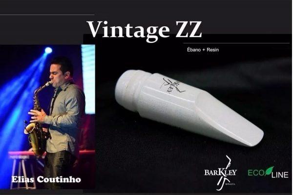 Barkley Vintage ZZ Ebony Alto Sax Mouthpiece