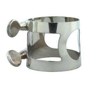 Bb/A Clarinet Ligature Nickel Plated Silver