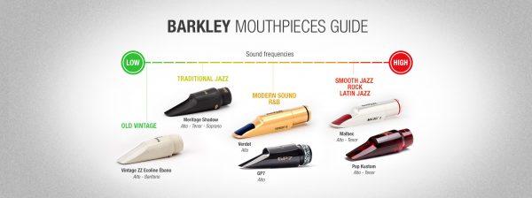 Barkley POP Kustom 8 Alto Sax Mouthpiece