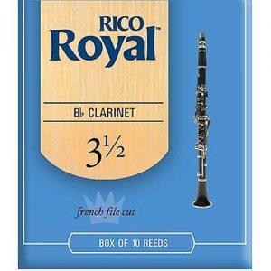 Rico Royal Clarinet Reeds 3.5 Box of 10