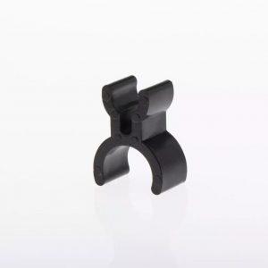 French Horn pencil holder black plastic