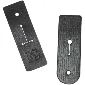 BG leather pad thumb rest connector for BG neck straps