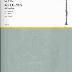 Uhl 48 Studies for Clarinet Book 1