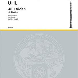 Uhl 48 Studies for Clarinet Book 2