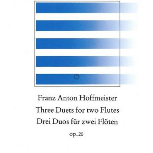 Hoffmeister Three Duets for Two Flutes