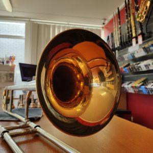 HN White King 2B SilverSonic Trombone