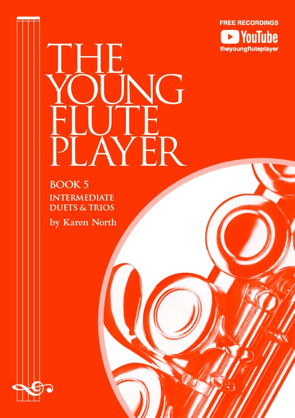 The Young Flute Player - Karen North - Book 5