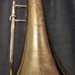 HN White King 2B Liberty Trombone