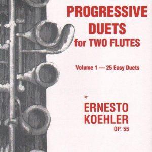 40 Progressive Duets for Two Flutes - Koehler