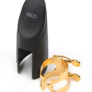 Rico D'addario H-Ligature for Alto Sax Gold Plated